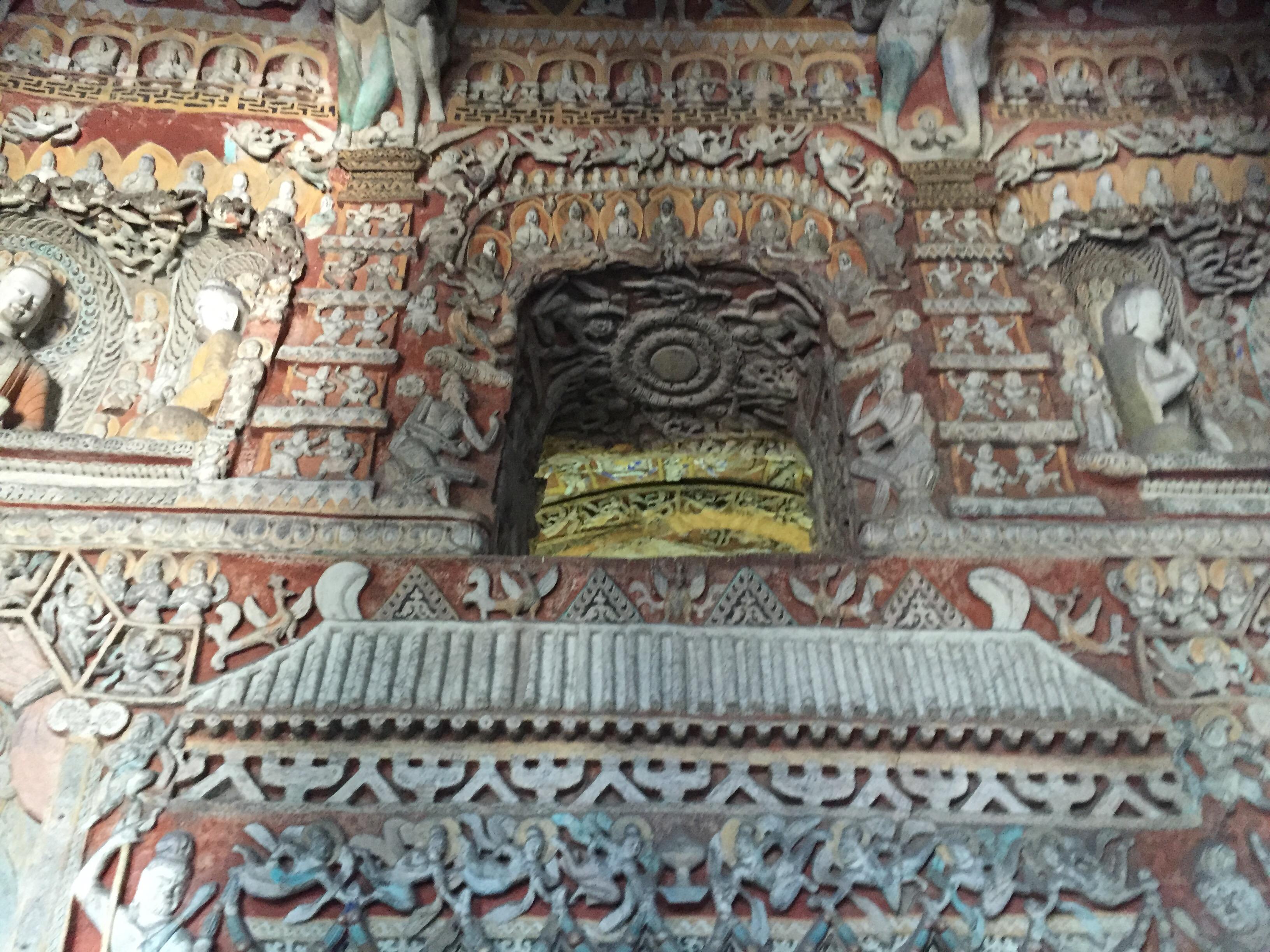 Architetti Famosi Antichi le grotte di yungang | silkroad moto raid 2016